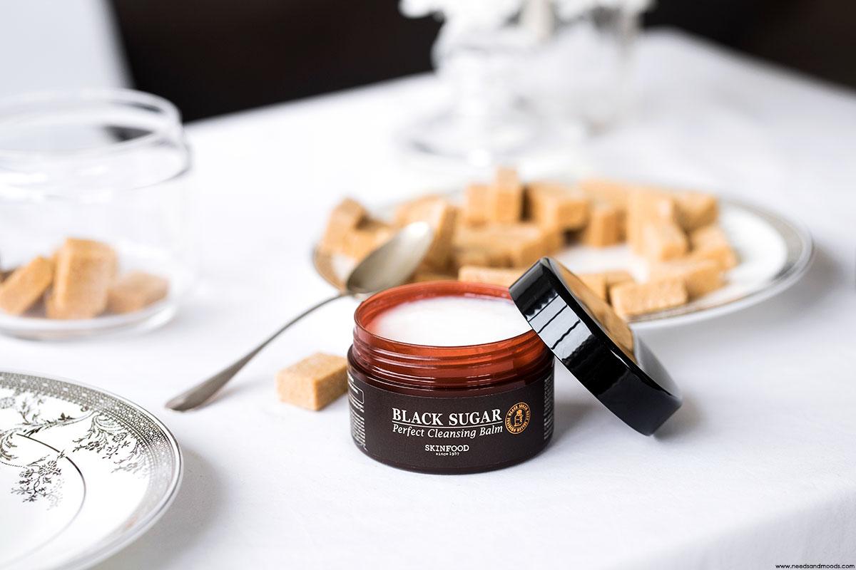 skinfood black sugar baume nettoyant visage