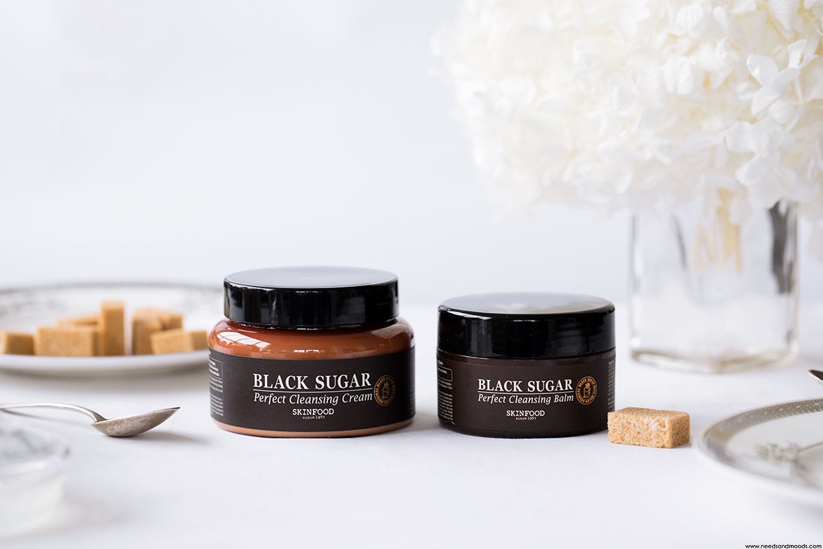 skinfood black sugar cleansing balm cream