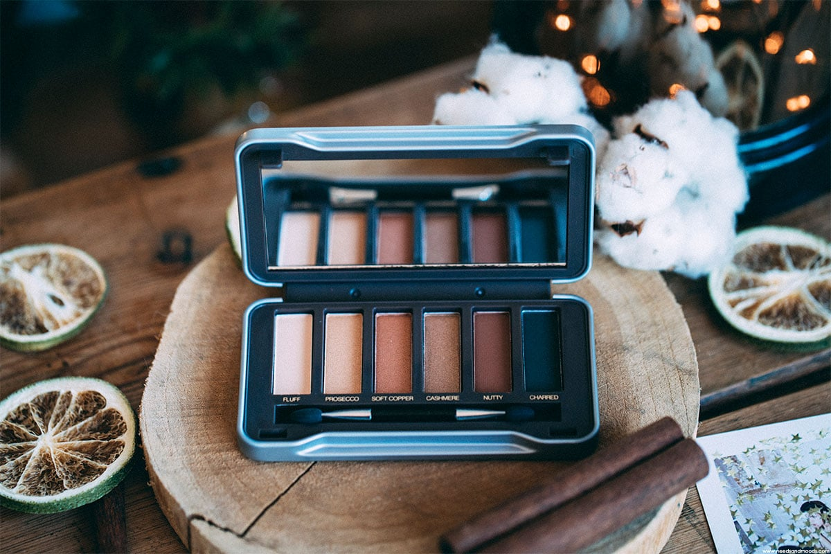 glossybox decembre 2017 palette maquillage