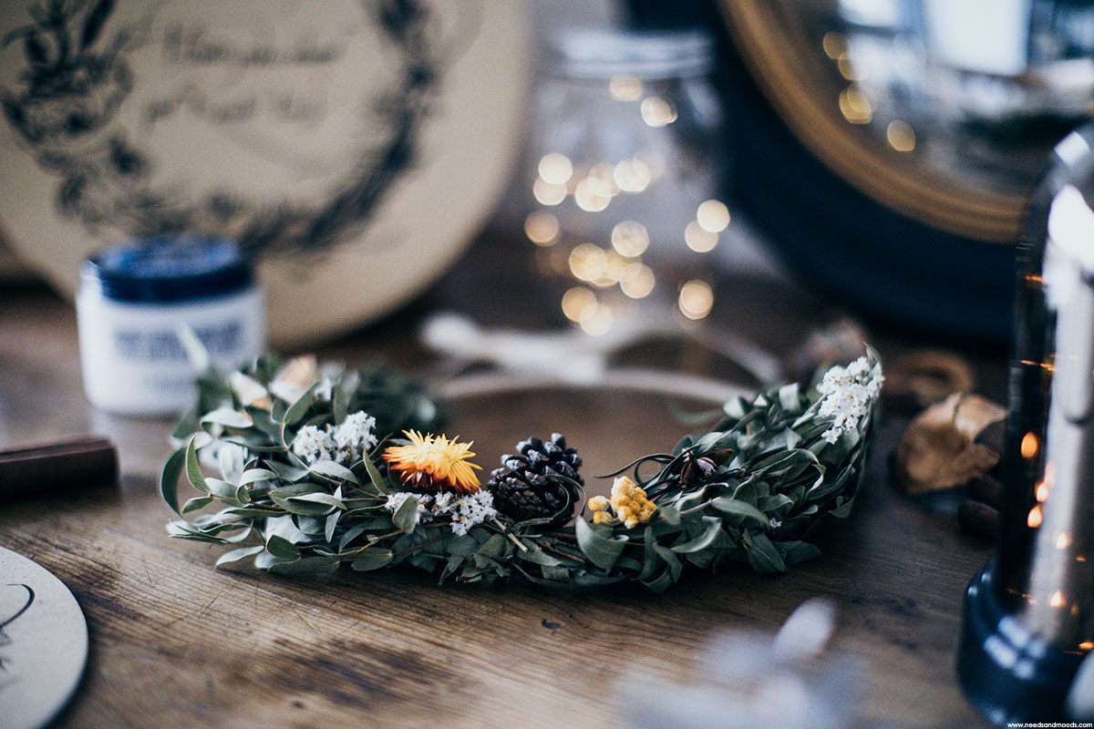l'occitane couronne fleurs