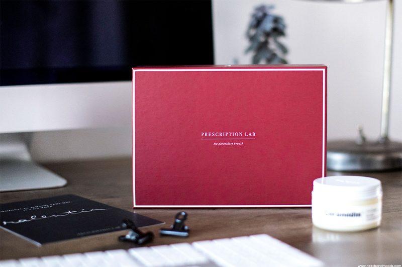 J'ai testé la box beauté Prescription Lab : mon avis !