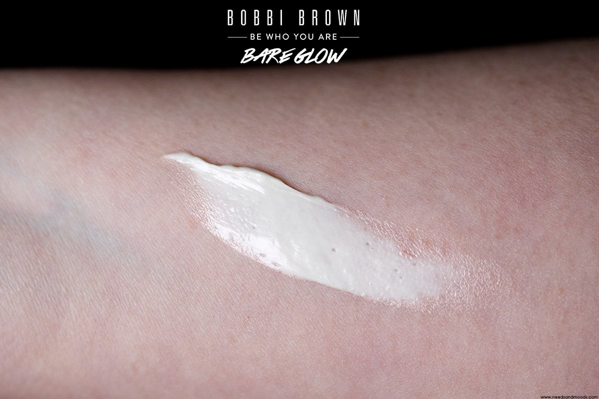 bobbi brown bare glow swatch