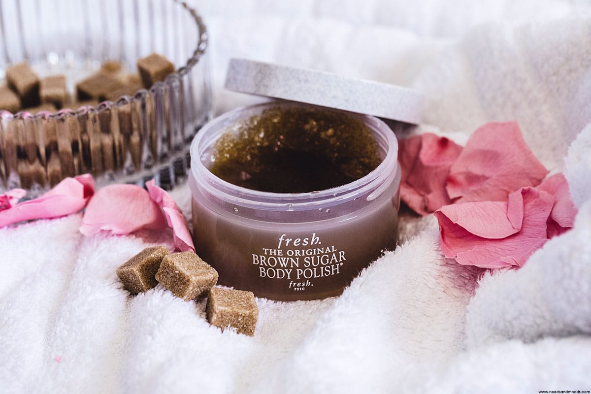 brown sugar body polish fresh