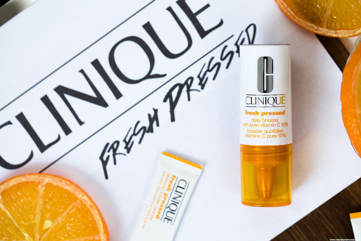 clinique fresh pressed 7 day system pure vitamine c