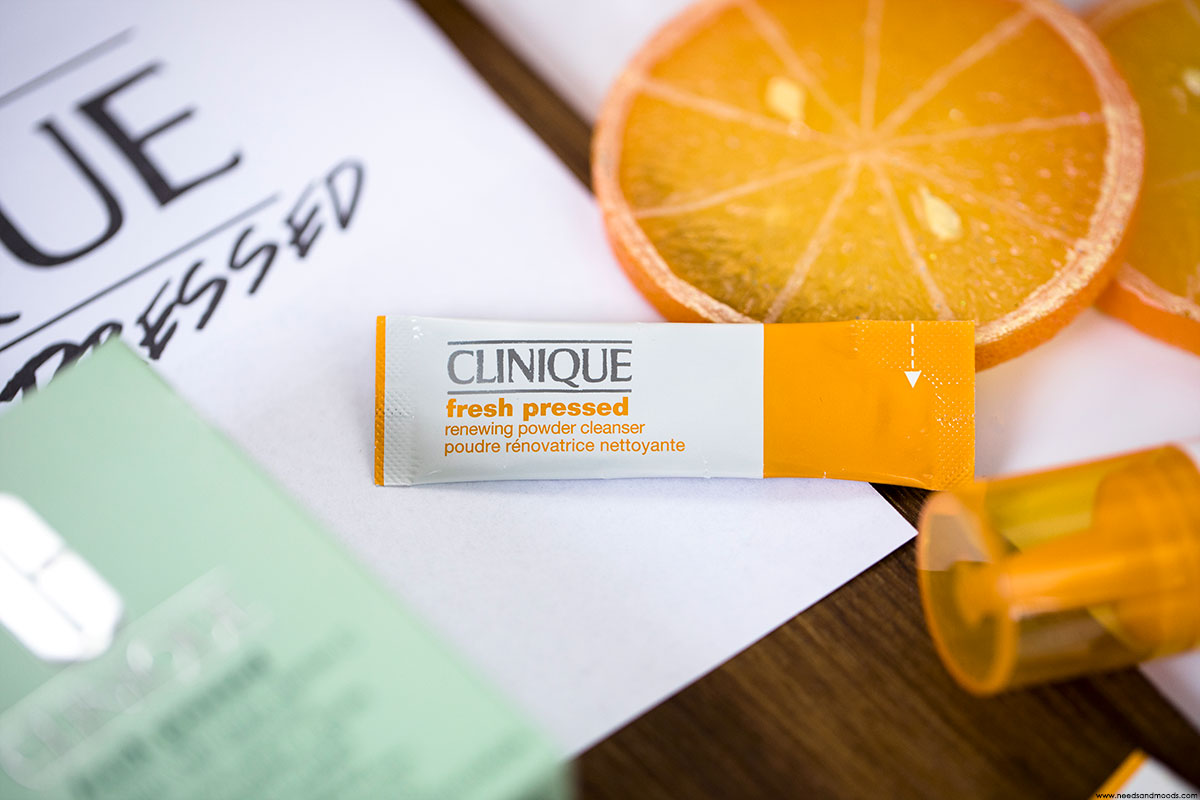clinique fresh pressed test