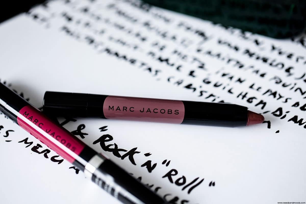 marc jacobs beauty le marc liquid lip crayon avis