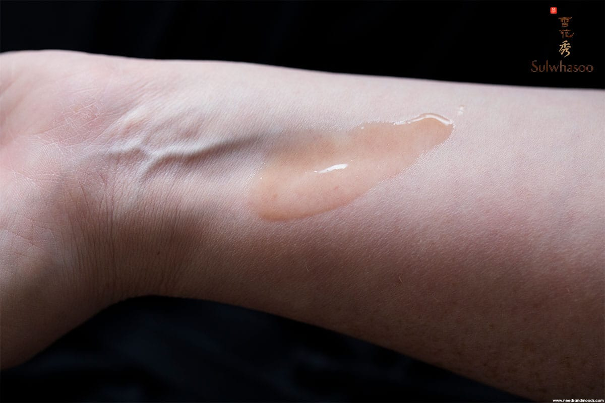 sulwhasoo first care serum activateur swatch