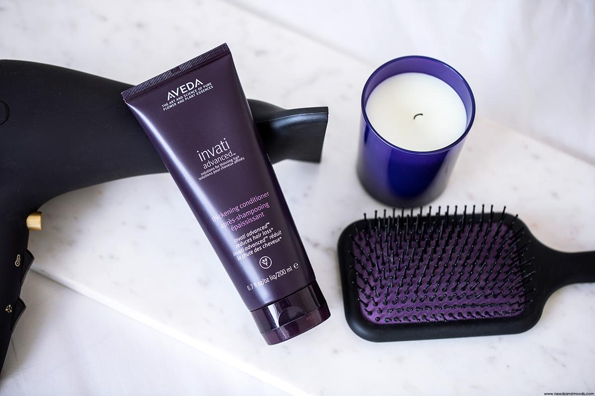 aveda invati apres shampooing epaississant