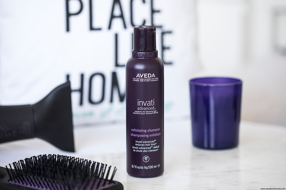 aveda invati shampooing exfoliant