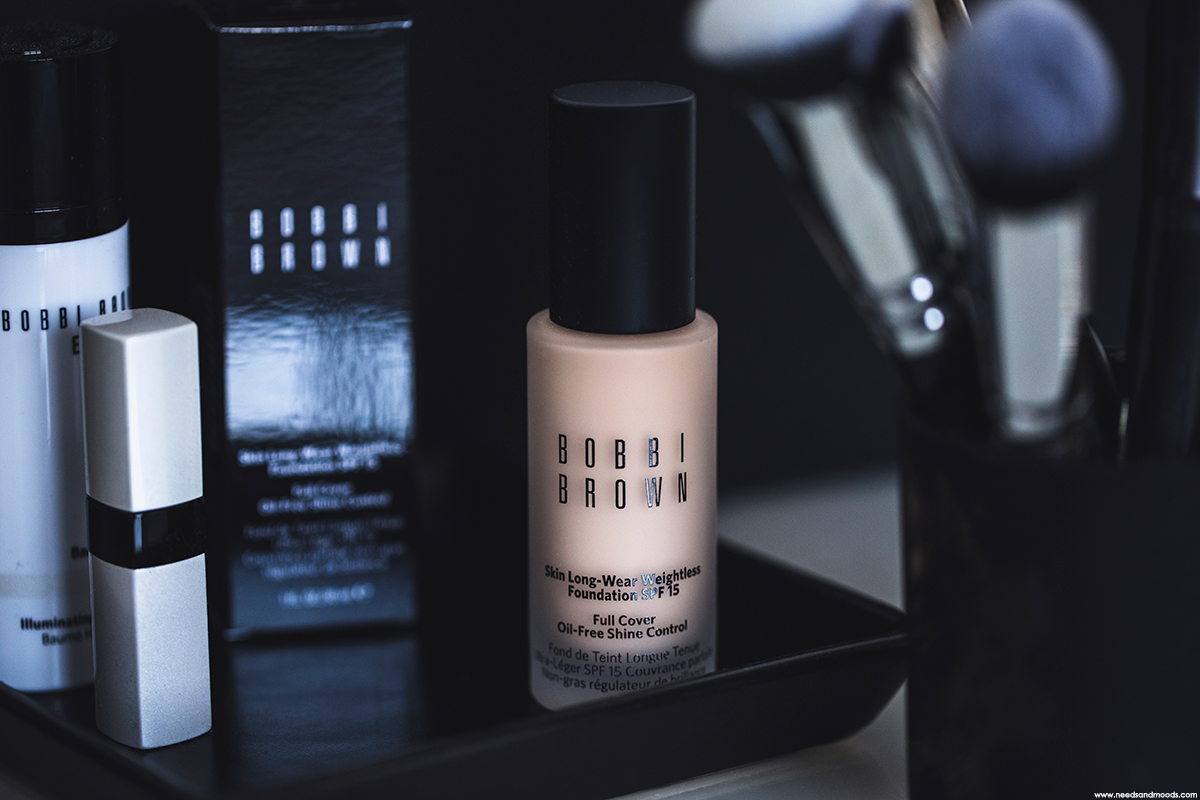 bobbi brown fond teint longue tenue ultra léger