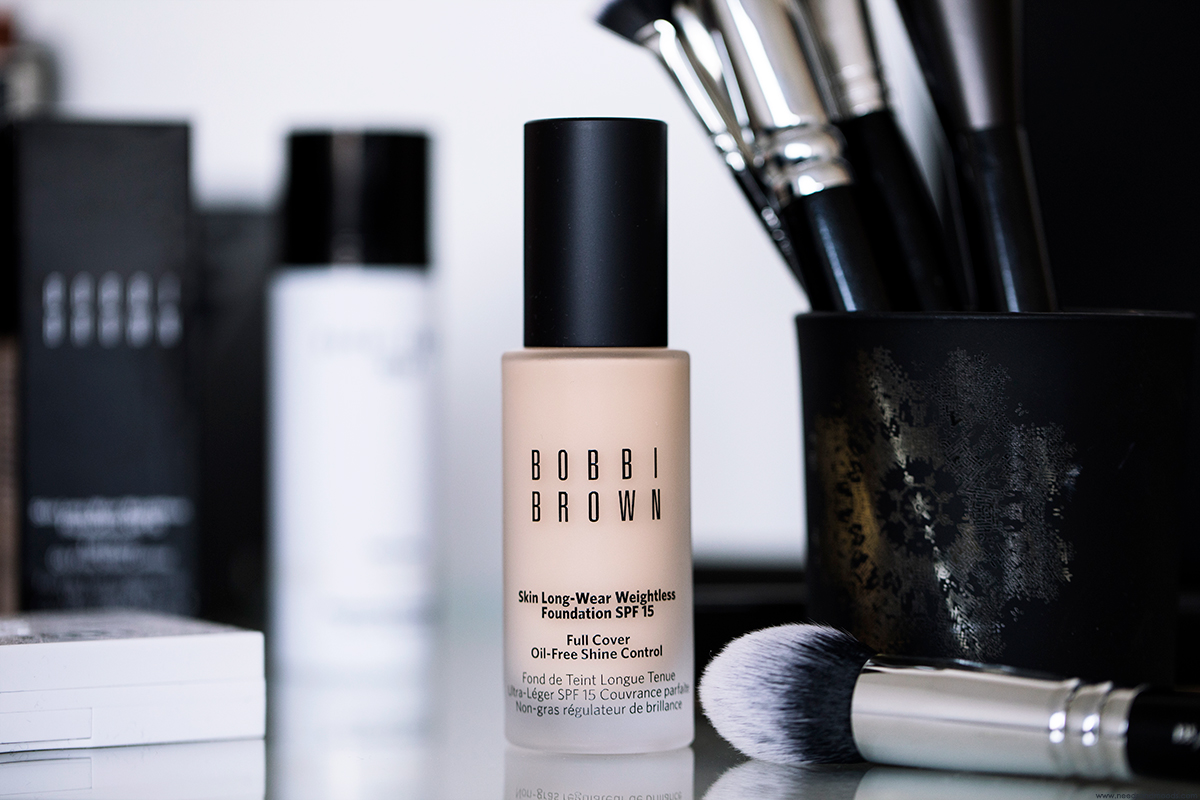 bobbi brown skin long wear weightless foundation avis