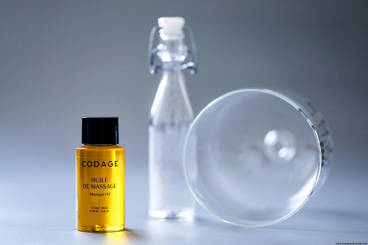 codage huile massage