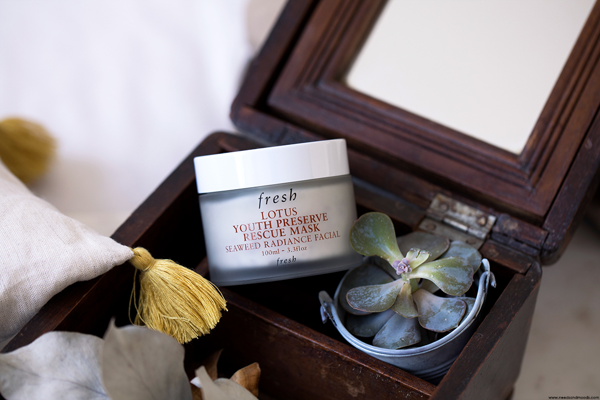fresh beauty lotus youth preserve rescue mask avis