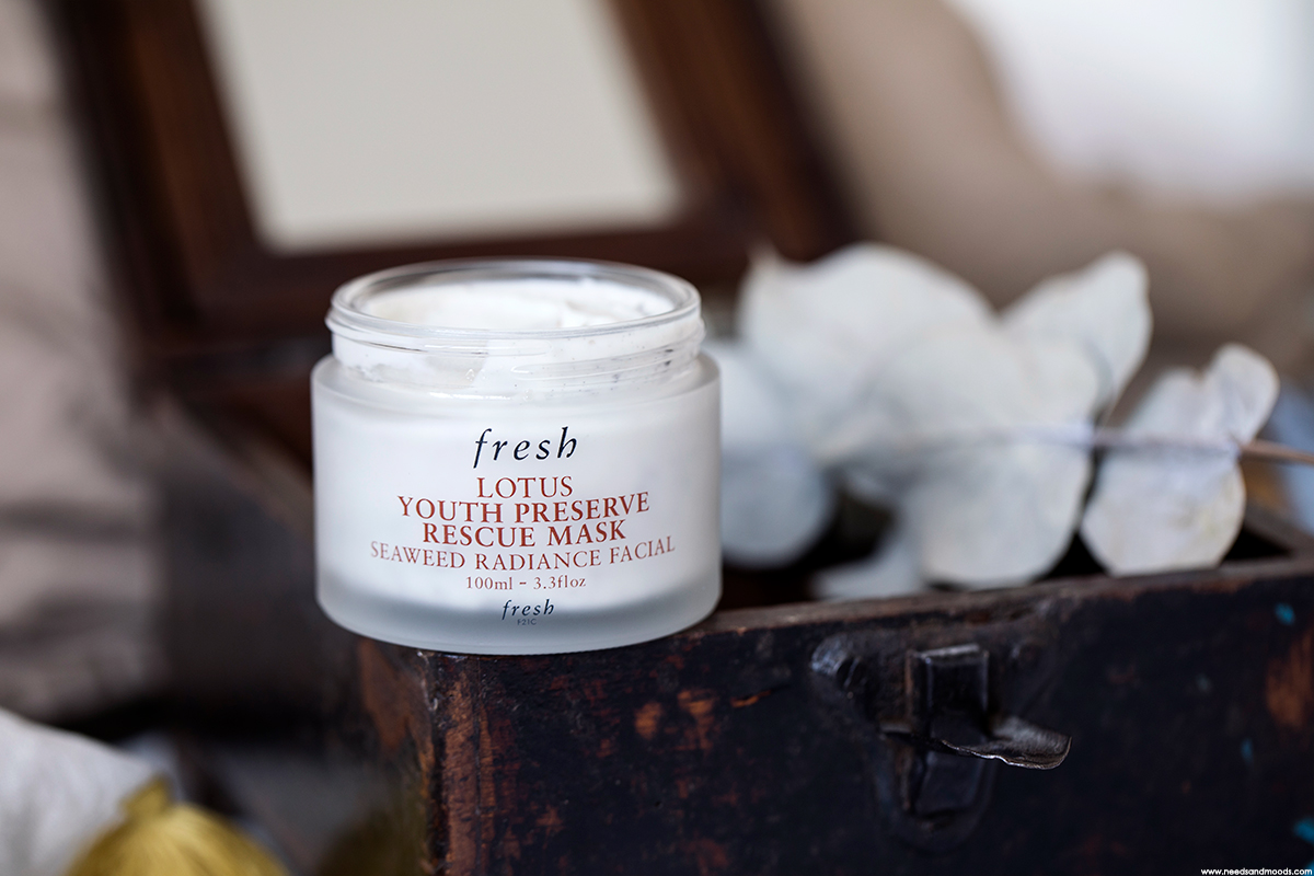 fresh lotus youth preserve rescue mask