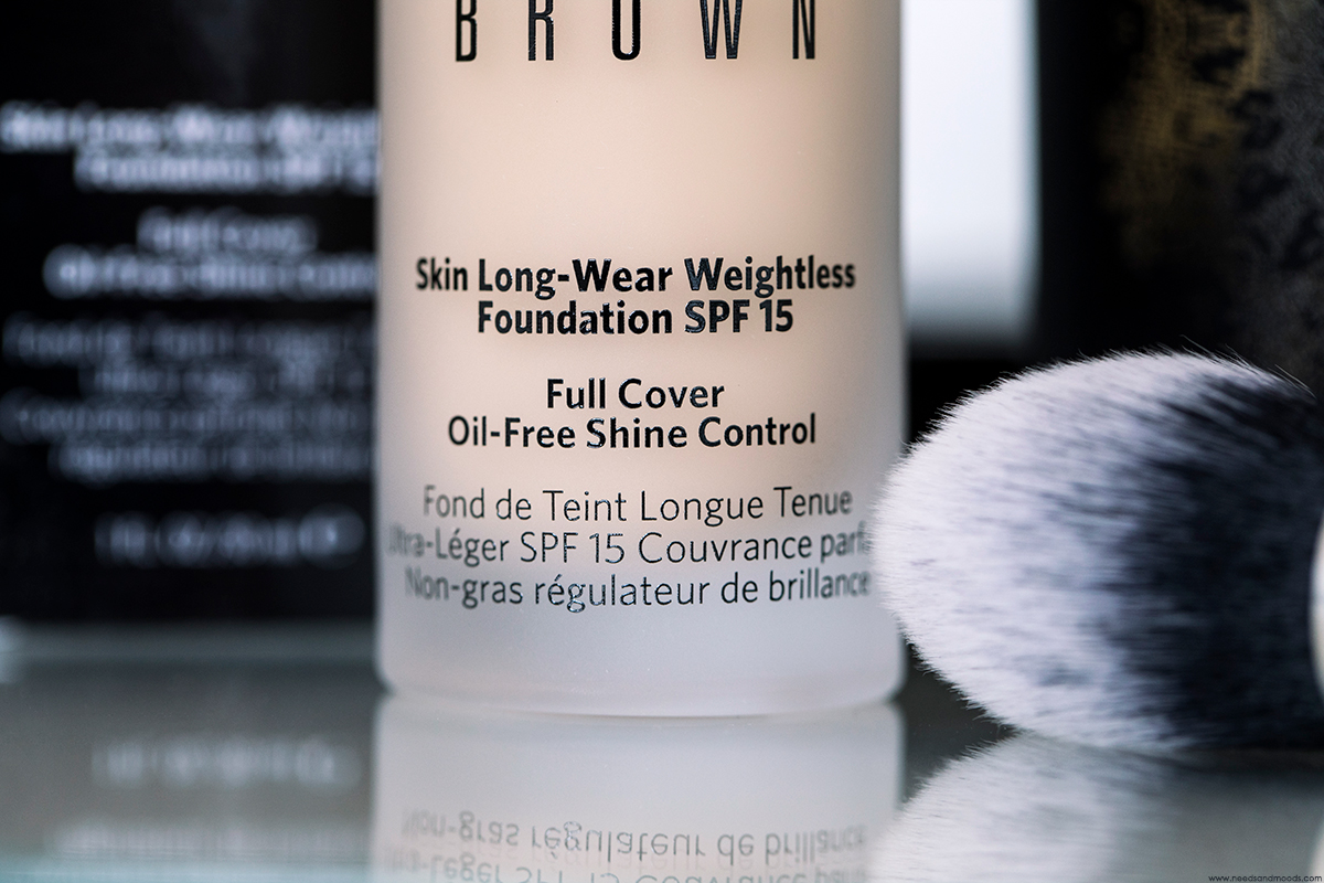 skin long wear weightless foundation bobbi brown