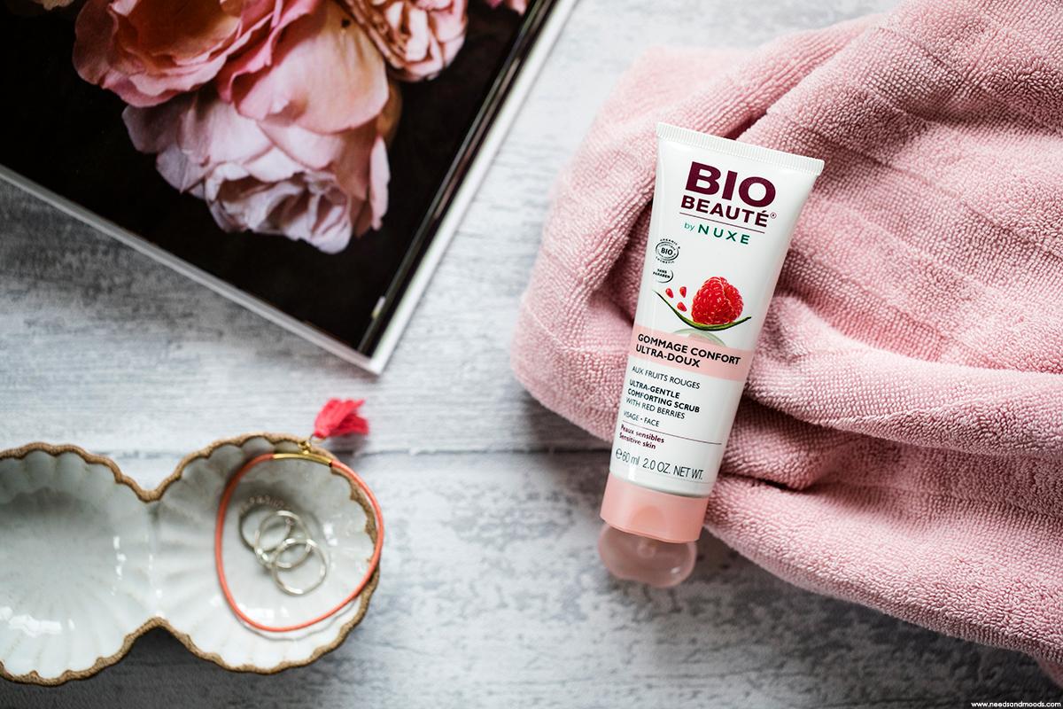 bio beaute by nuxe gommage confort ultra doux fruits rouges avis