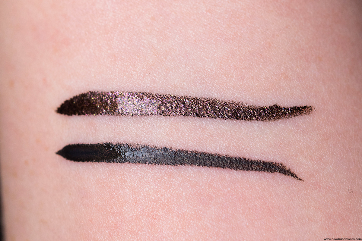 bobbi brown dual-ended long-wear liquid liner swatch