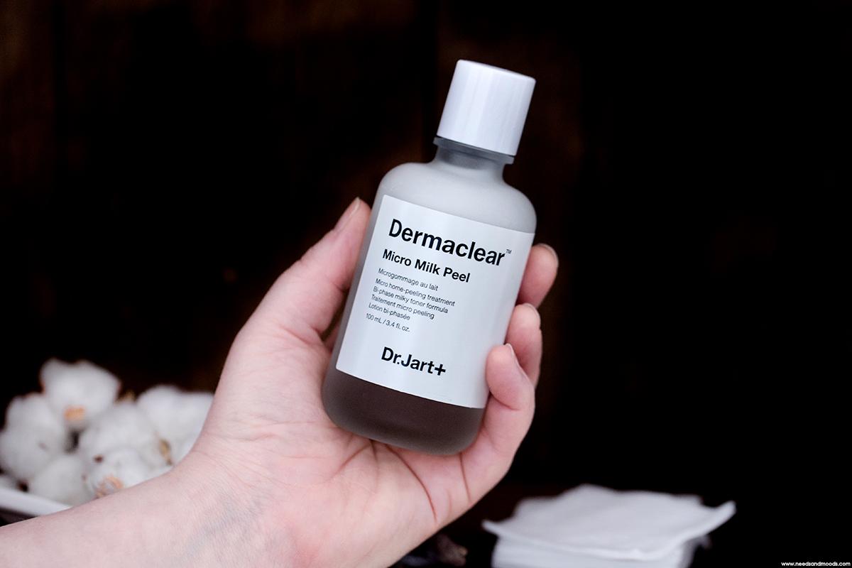 dermaclear micro milk peeling dr jart