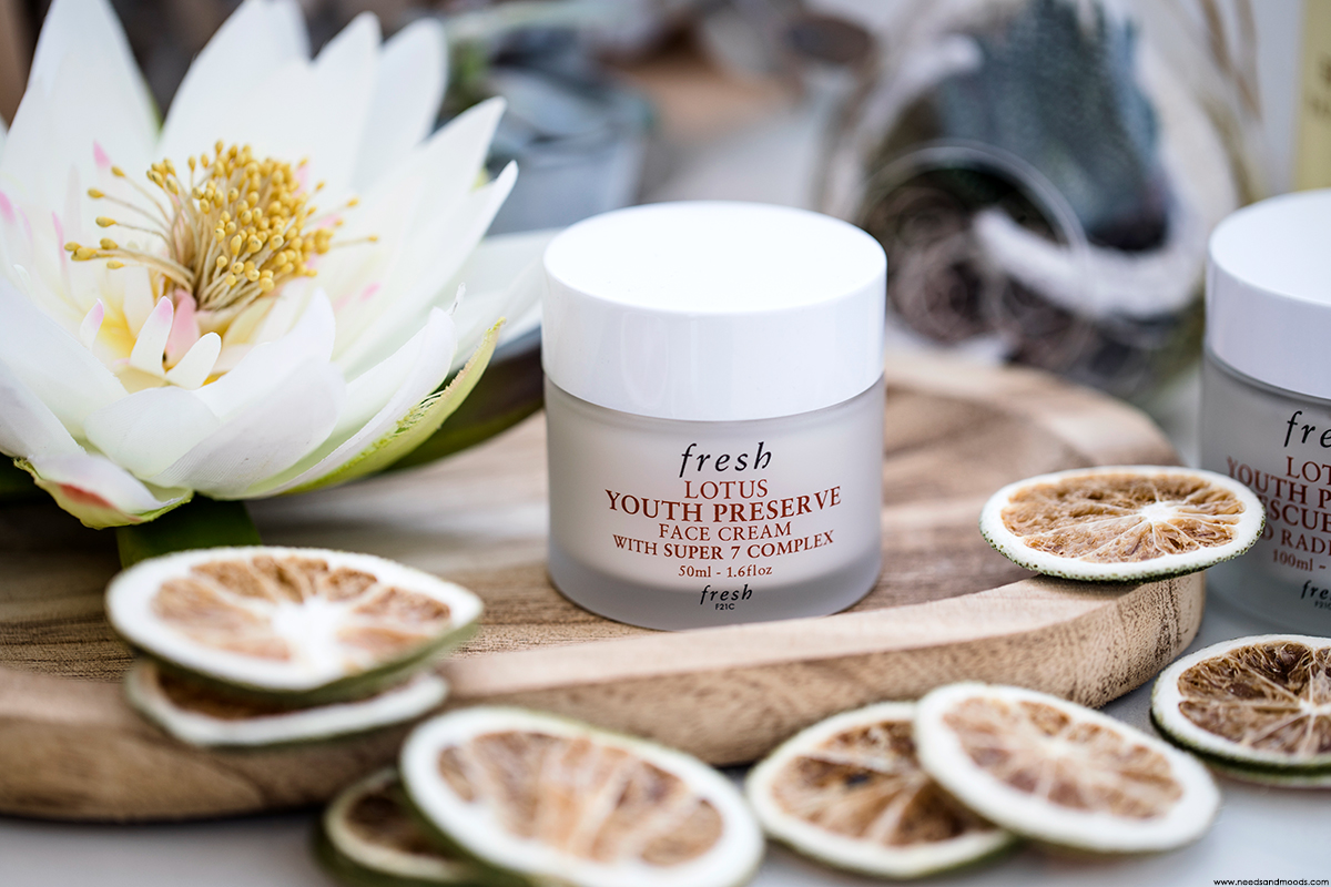 fresh beauty lotus youth preserve face cream