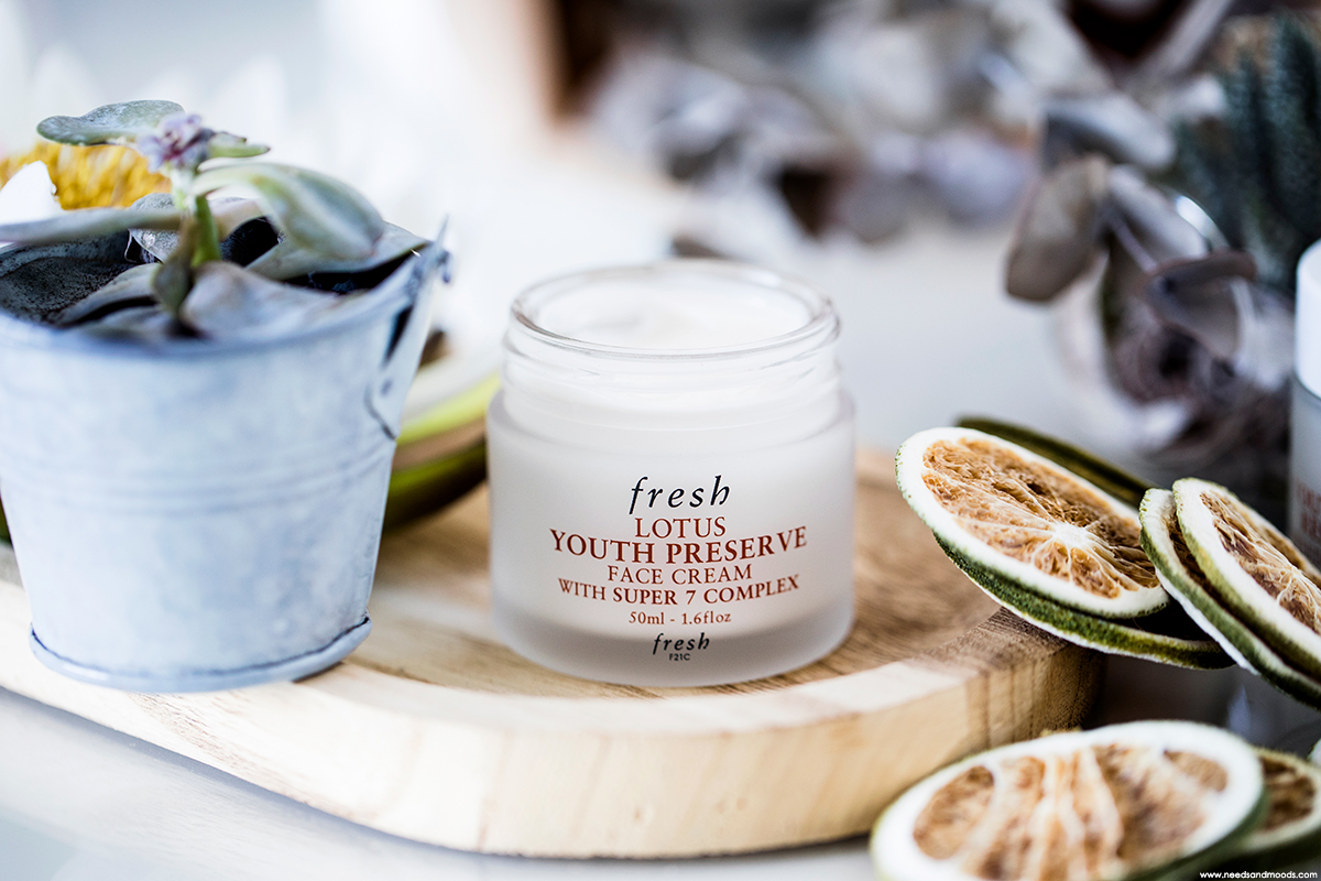 fresh lotus youth preserve face cream avis