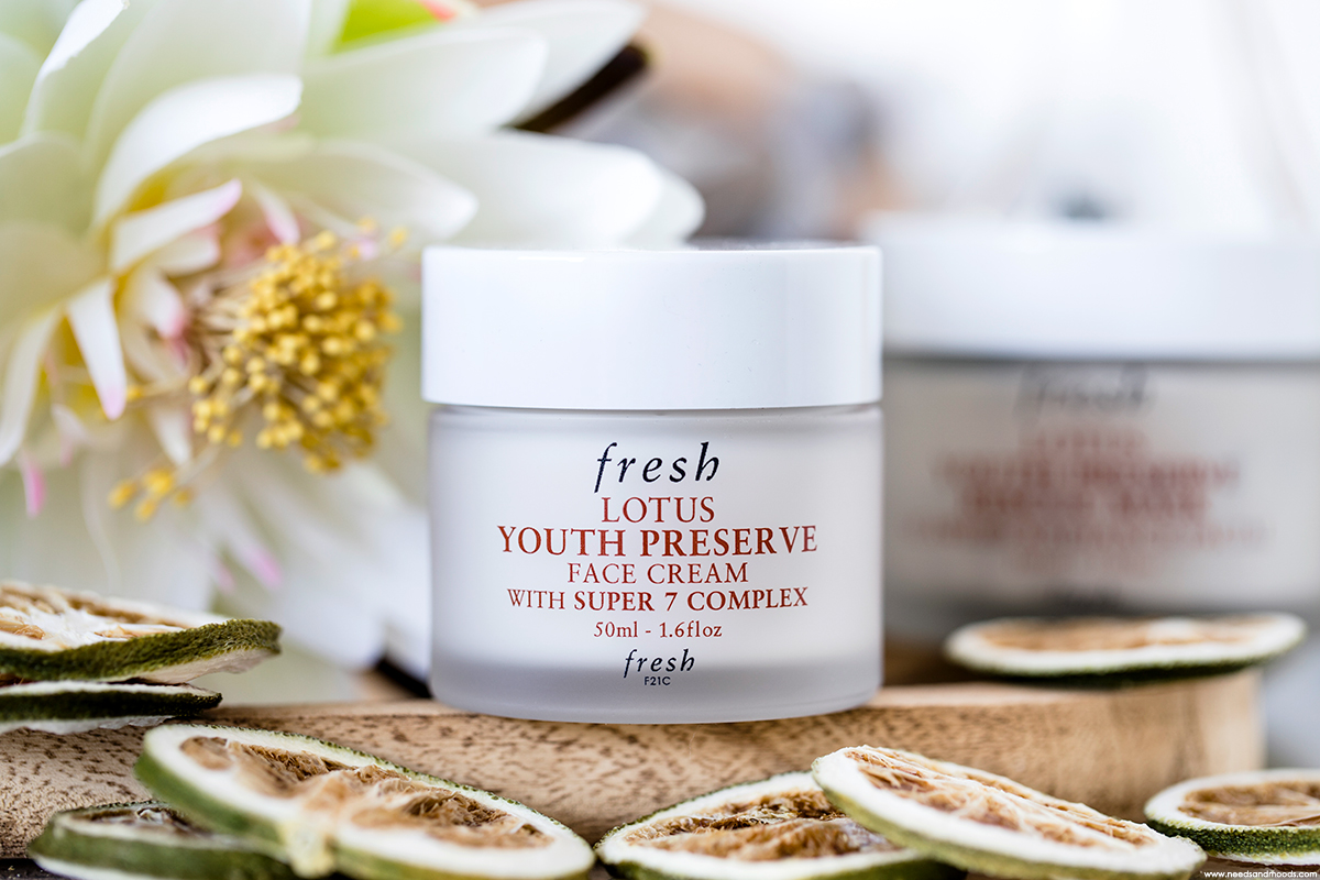 lotus youth preserve face cream fresh
