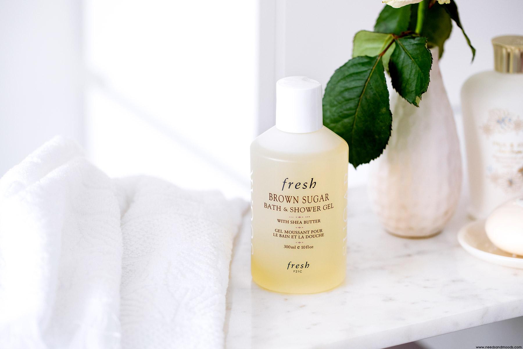 fresh Brown Sugar Bath Shower Gel avis