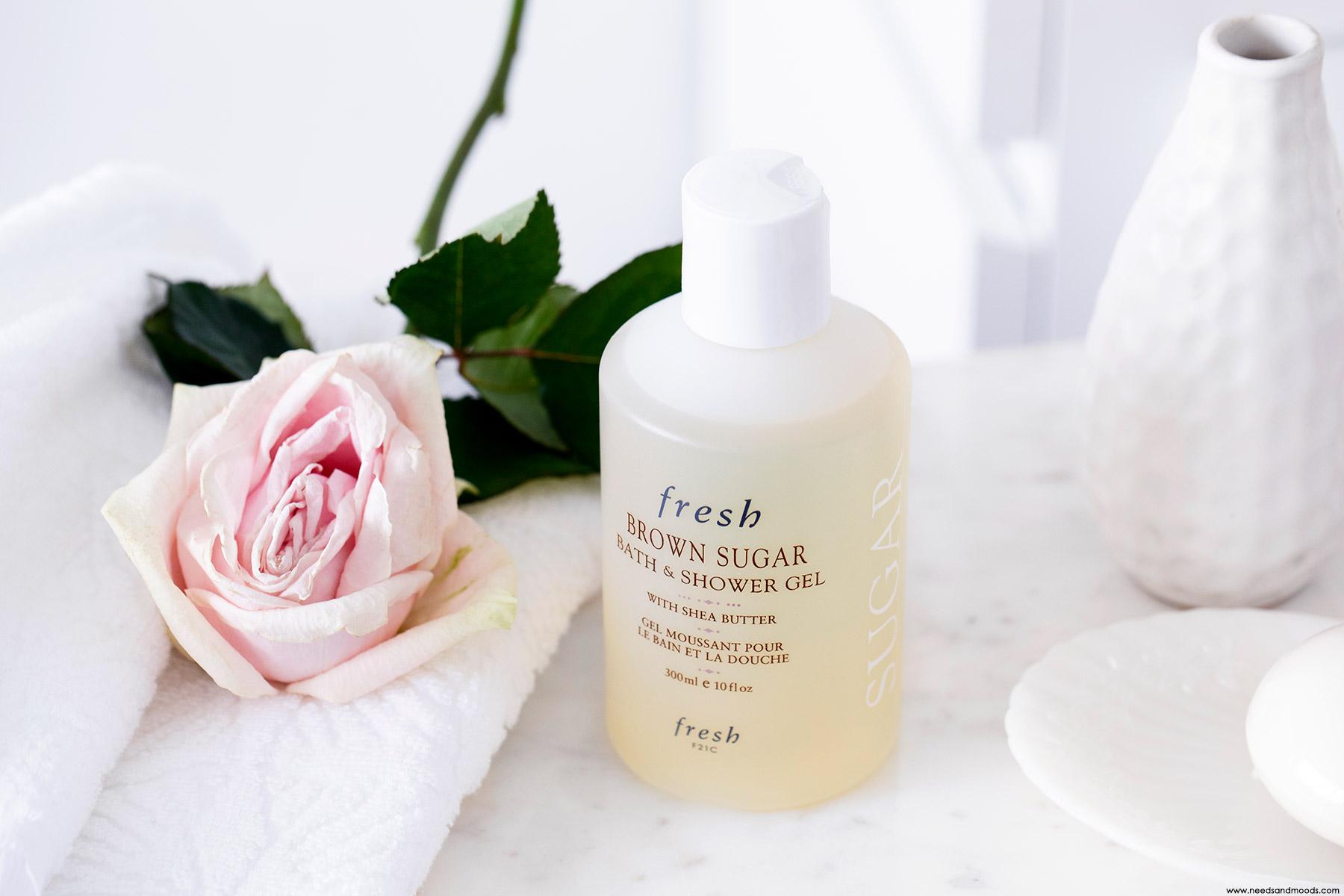 fresh beauty Brown Sugar Bath Shower Gel avis
