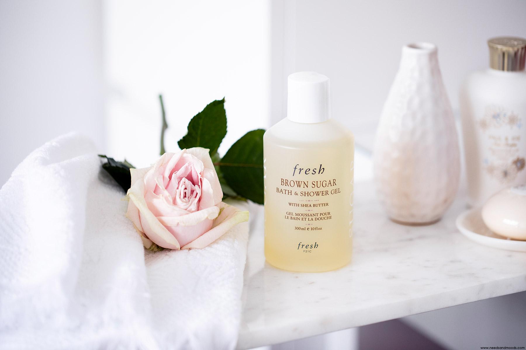 fresh beauty Brown Sugar Bath Shower Gel