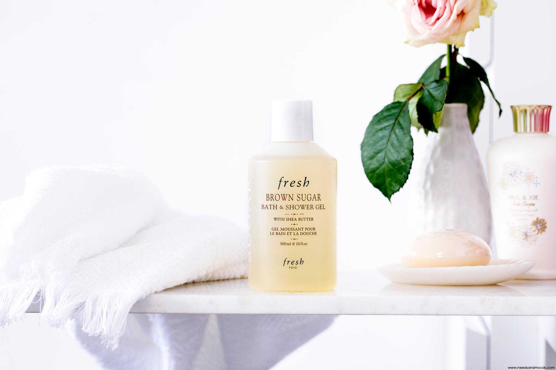 fresh beauty gel bain douche