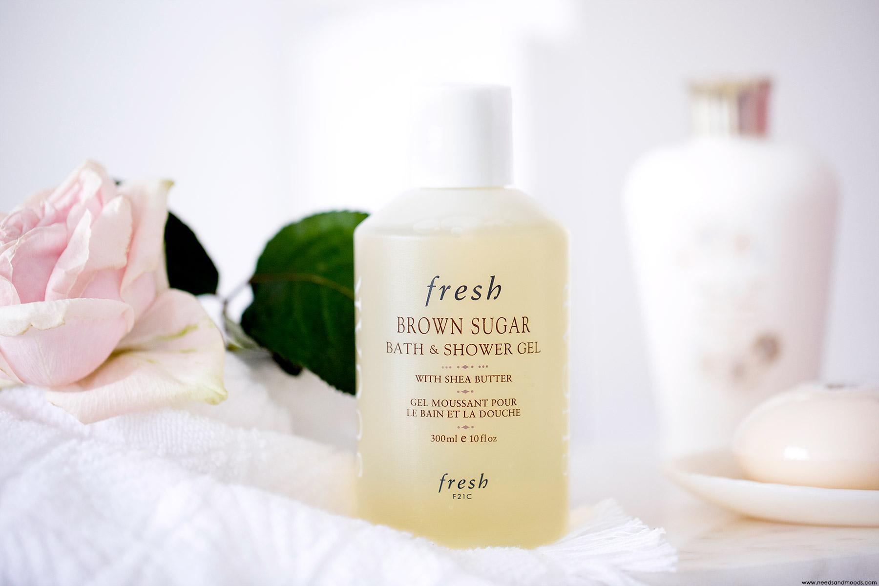 fresh gel bain douche avis