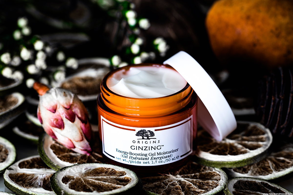 origins ginzing energy boosting gel moisturizer avis