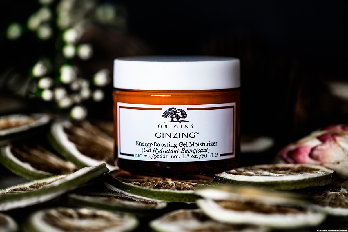 origins ginzing energy bosting gel moisturizer