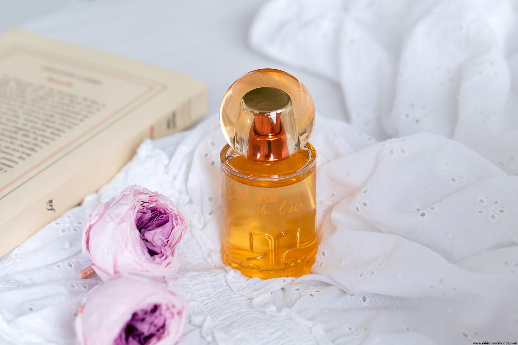 courr ges la fille de l 39 air parfum doudou la fleur d 39 oranger mon avis. Black Bedroom Furniture Sets. Home Design Ideas