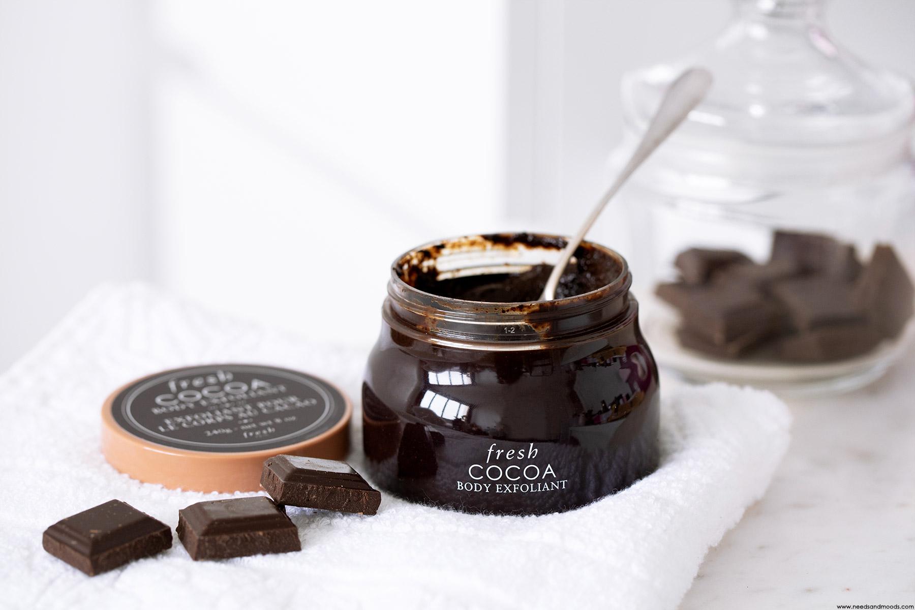fresh beauty cocoa body exfoliant avis