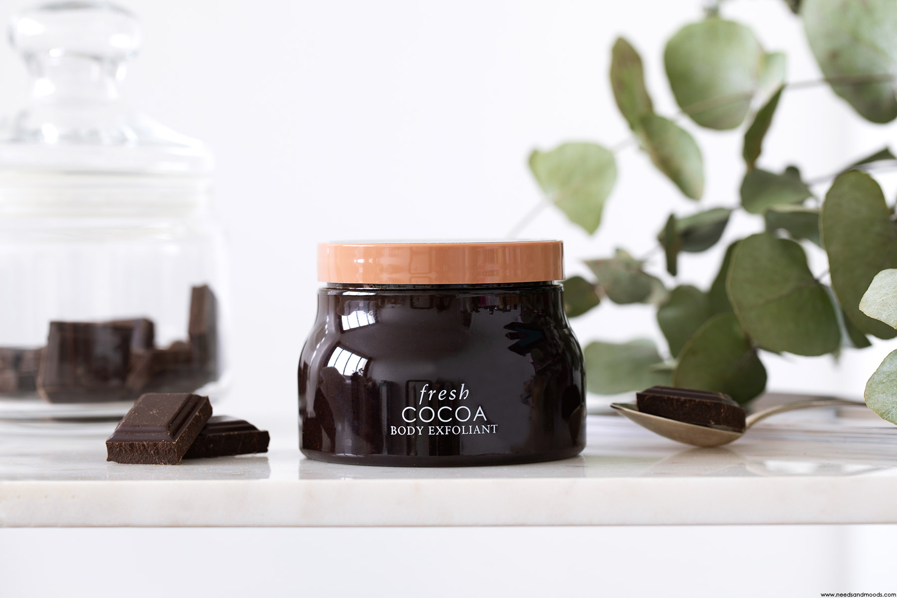 fresh beauty exfoliant corps cacao