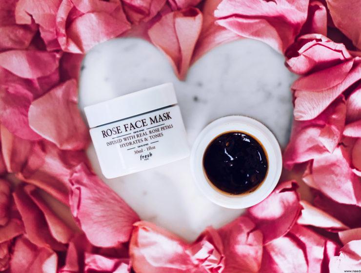fresh beauty rose face mask avis