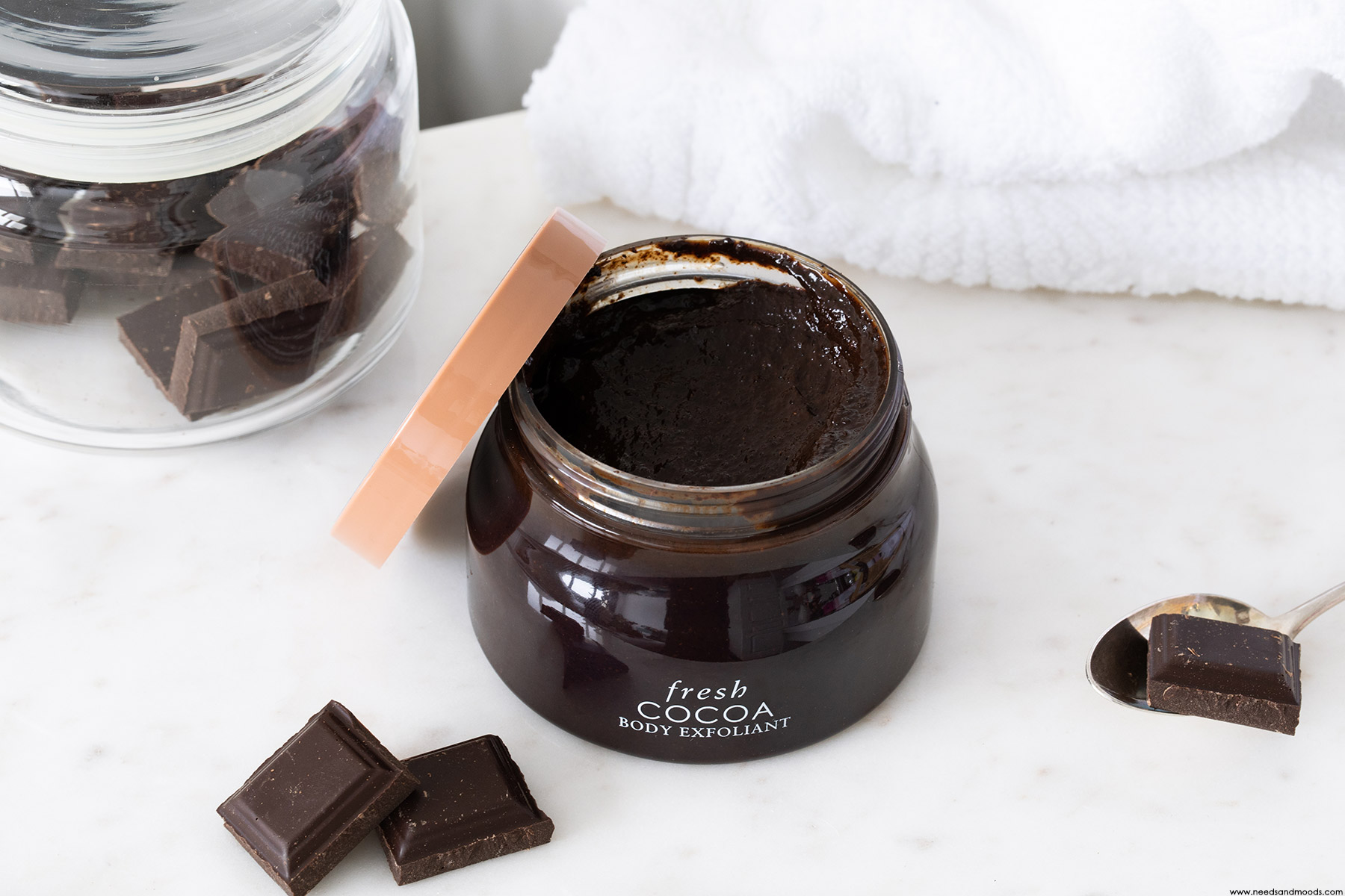 fresh exfoliant corps cacao