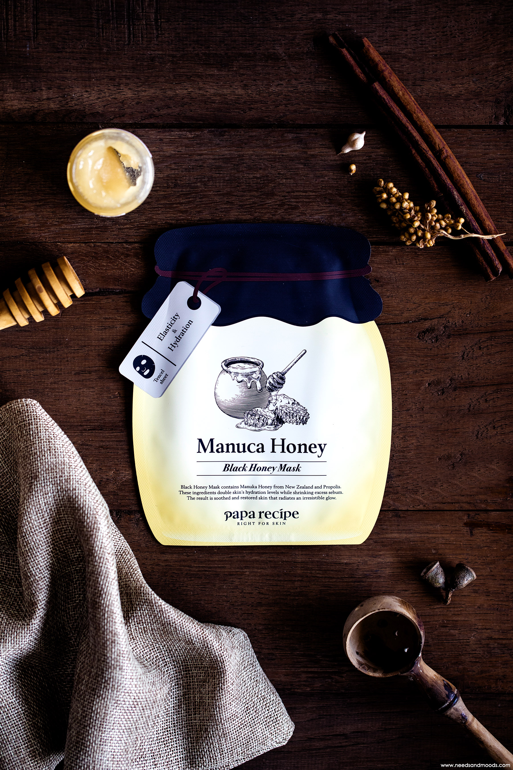 papa recipe manuca black honey mask