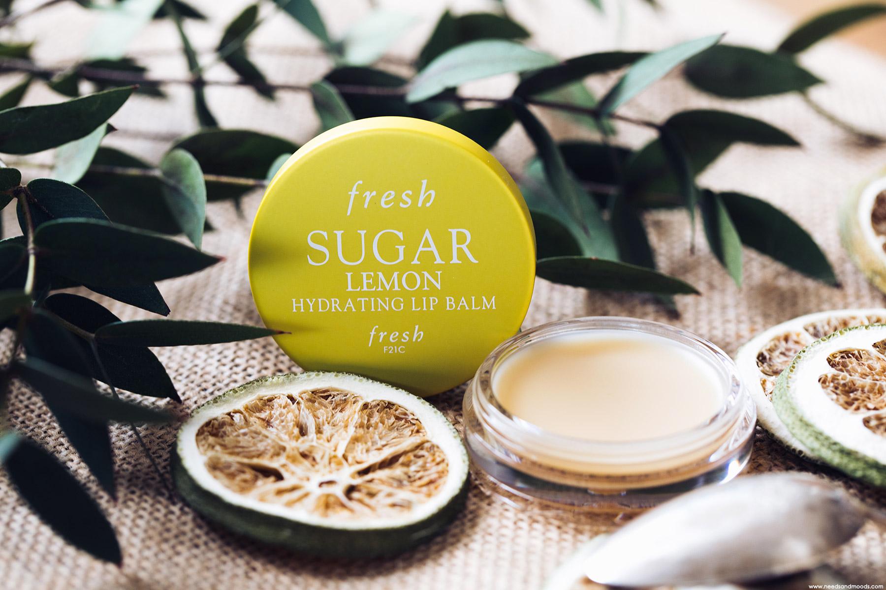 fresh baume lèvres citron