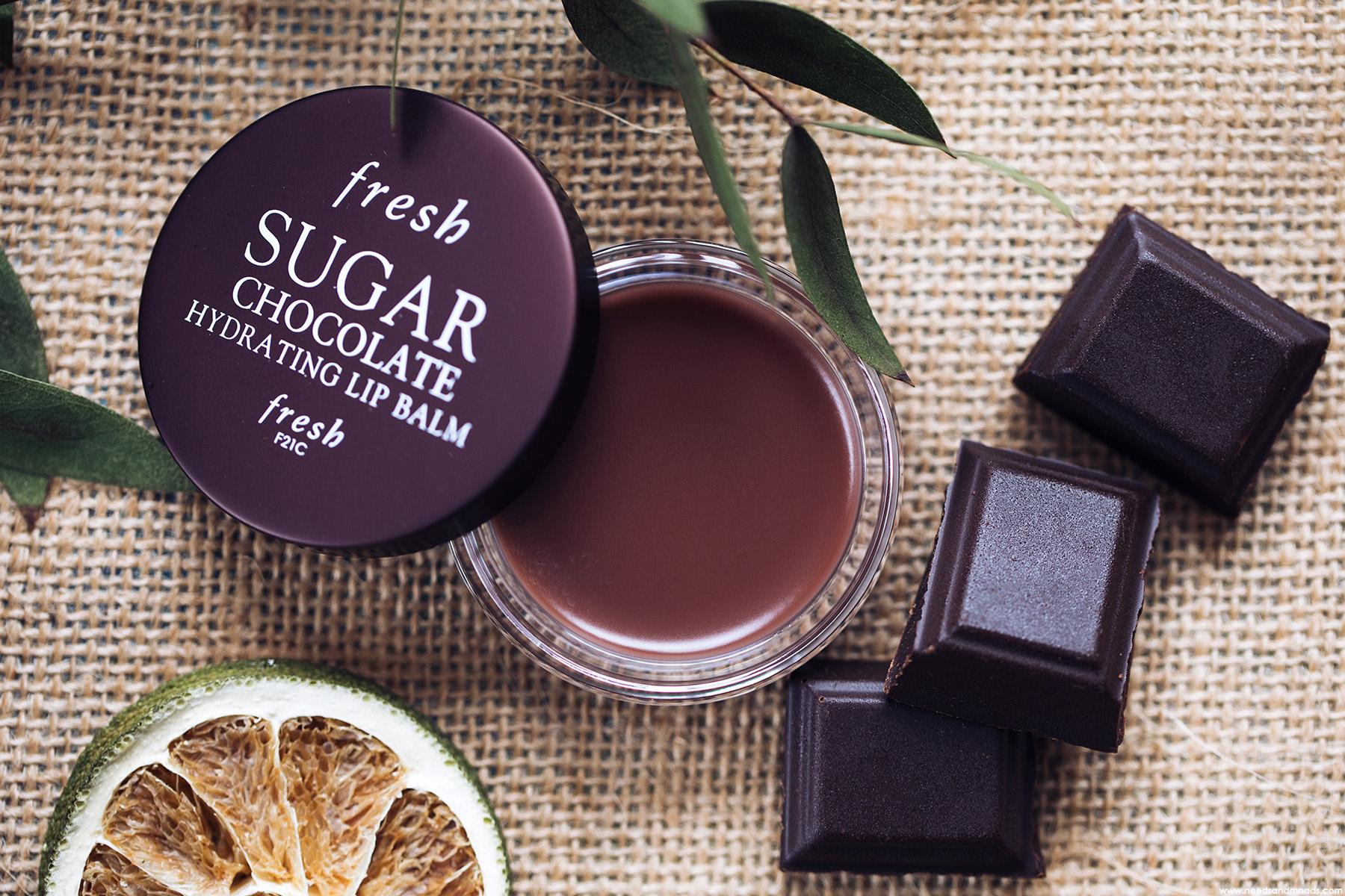 fresh sugar baume levres chocolat