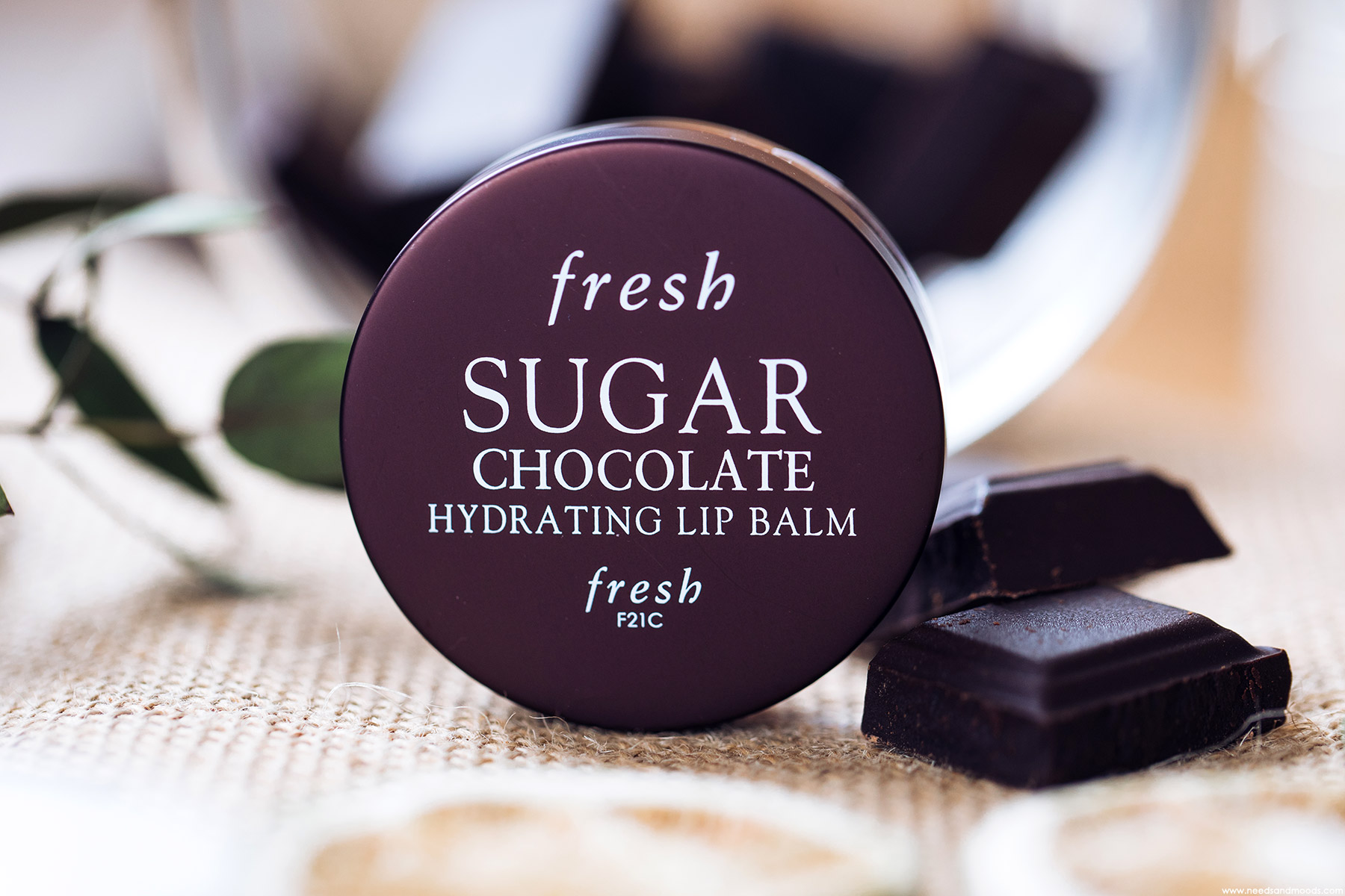 fresh sugar chocolate hydrating lip balm