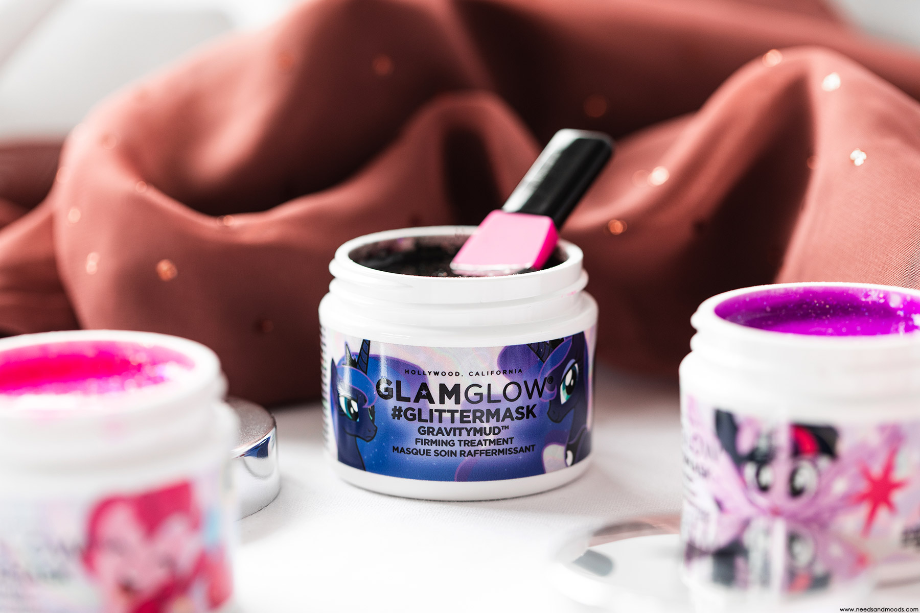 glamglow glittermask gravitymud my little pony