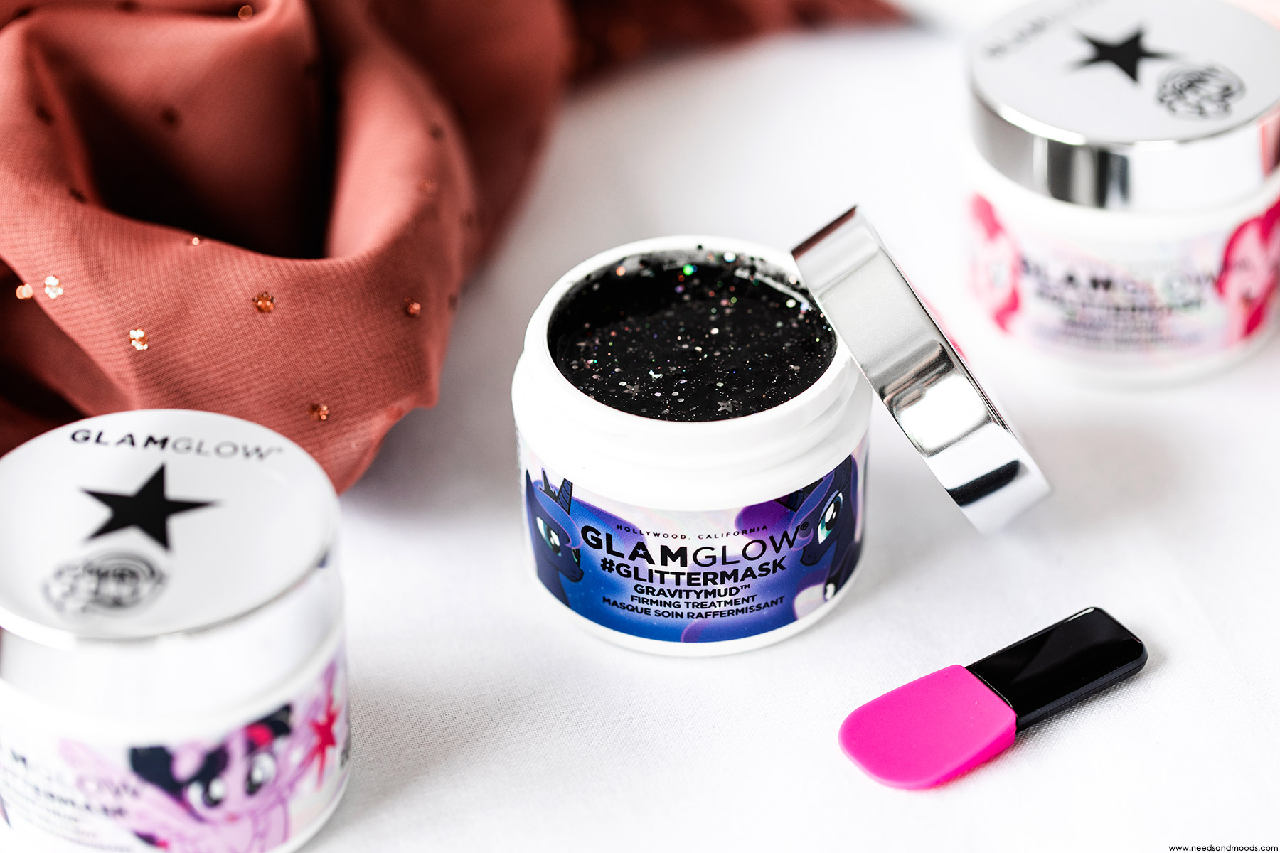 gravitymud my little pony glamglow