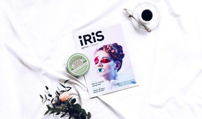 loccitane iris magazine