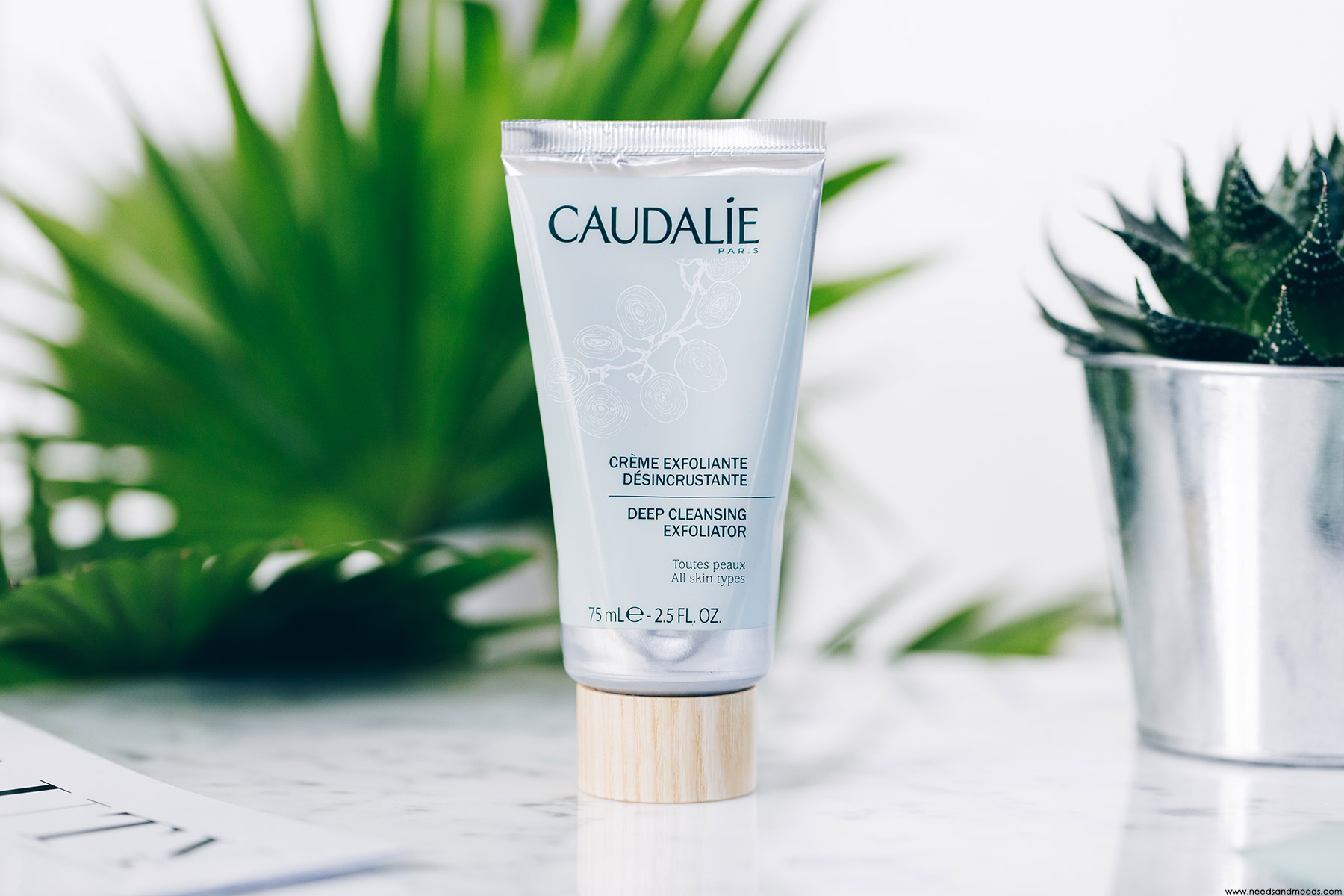 lookfantastic beauty box caudalie creme exfoliante