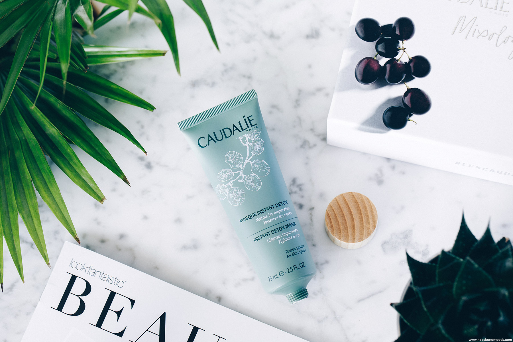 lookfantastic beauty box caudalie masque detox