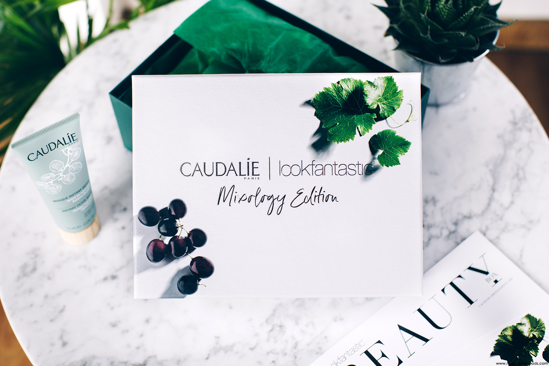 lookfantastic beauty box caudalie