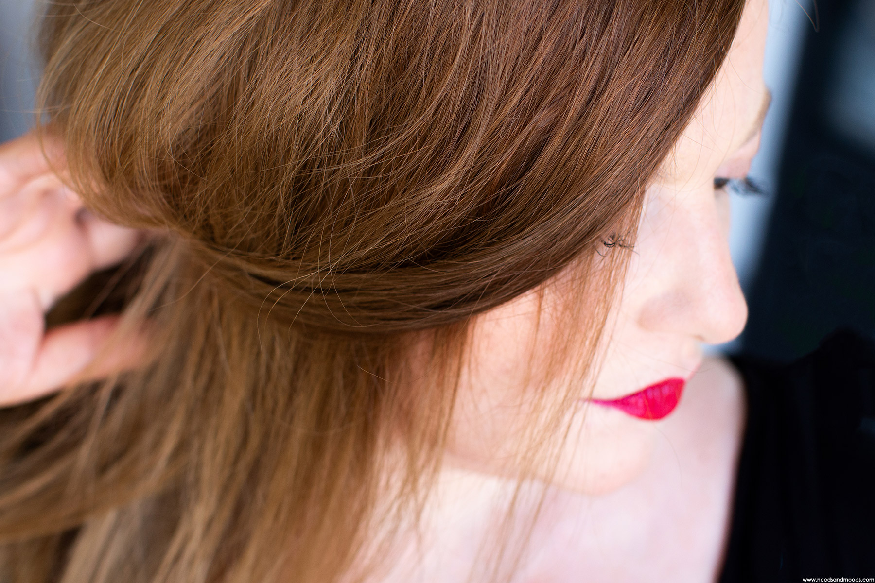 christophe robin soin nuanceur de couleur chatain eclatant avant apres