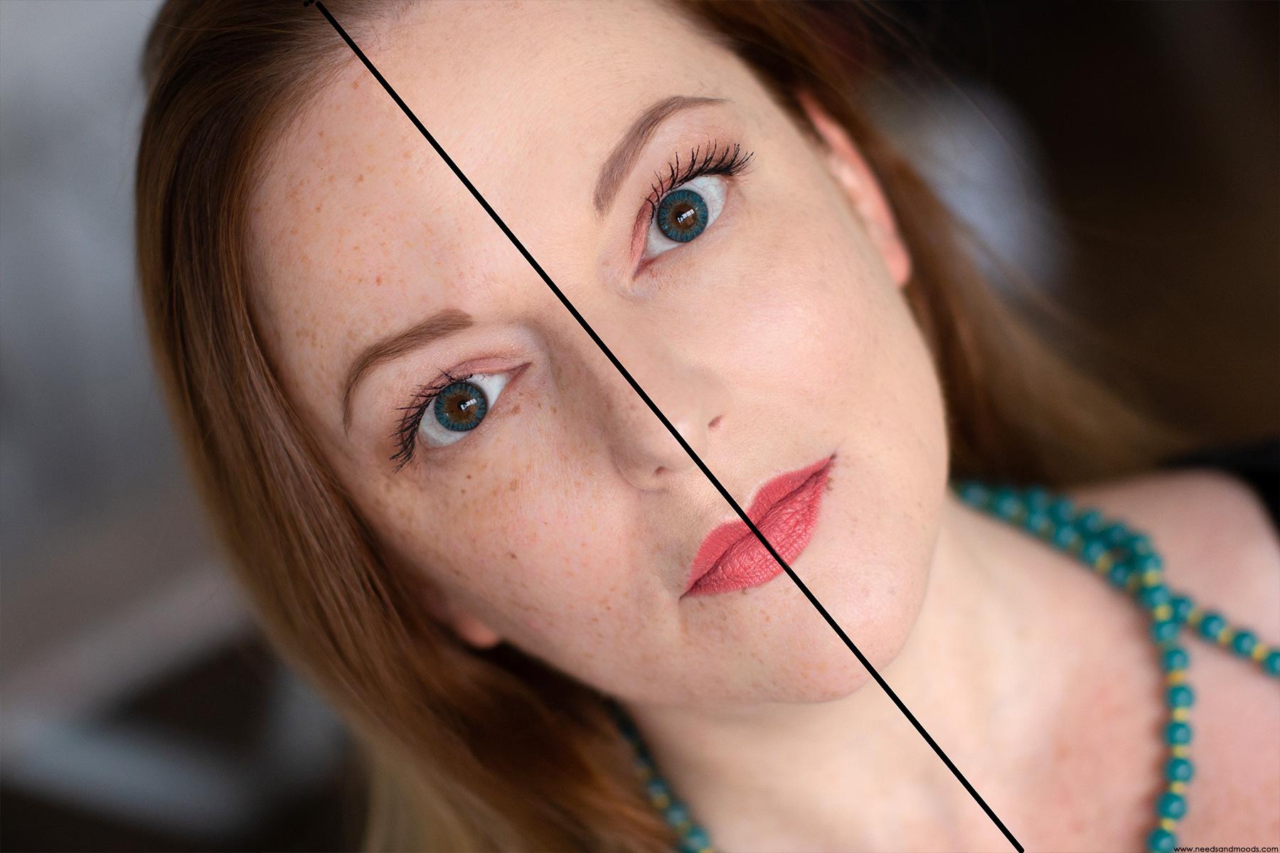clarins skin illusion avant apres