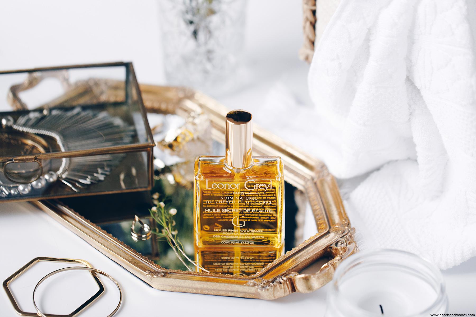 leonor greyl huile secret beaute avis